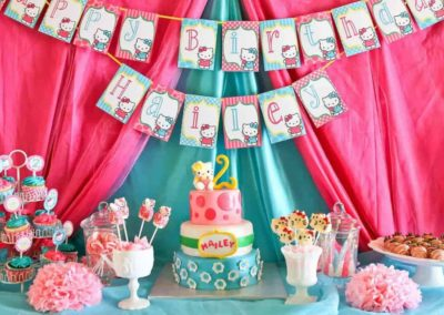 Awesome Hello Kitty Birthday Party Hello Kitty Party Sweet Kitty Treats Mimis Dollhouse